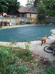 Safety Cover for 20 x 40 inground pool