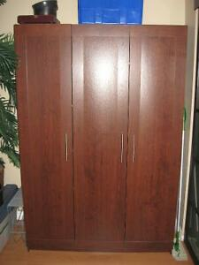 Moving Sale: 2 multi-use wardrobes/pantry $120 each or both $200