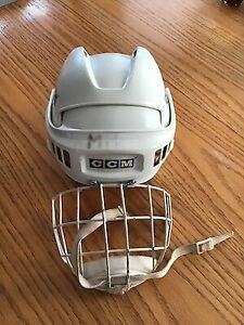 CCM Hockey Helmet and Face Cage