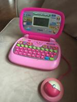 2 Vtech tote and go laptops