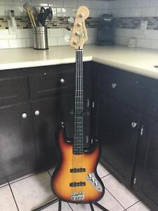 Fender Fretless squire vintage modified jazz bass