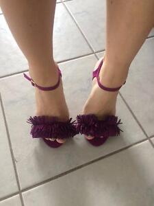 Fun purple Qupid heels