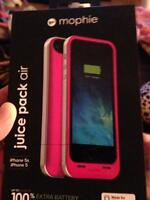 Mophie iPhone 5 5s charger case