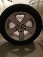 Summer tires on honda alloy rims