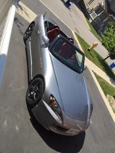 2001 Honda S2000 - Clean, Cdn, E-cert'd, GPS, Records, Extras