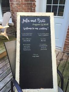 Various wedding decorations for sale