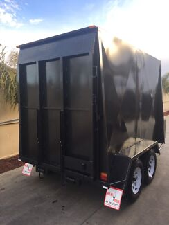 9 x 5 heavy duty tandem van trailer, 6ft high, swan hill