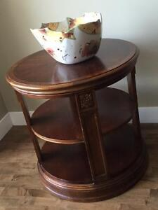 Ethan Allen Hall Table - Solid Wood