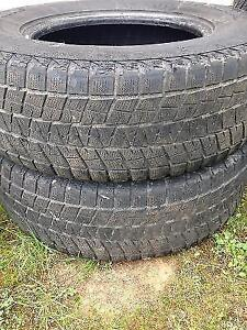 Two P265/70R17 Tires