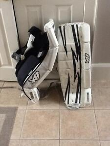 Goalie pads for sale size 31+1