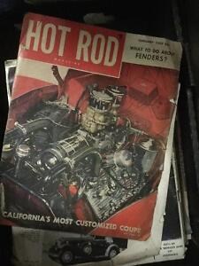 About 25 Assorted Car Magazines from 50's and 60's
