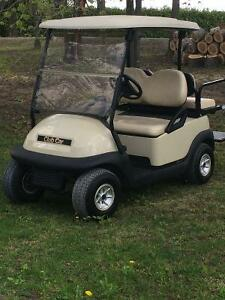 SPECIAL! 2009 CLUB CAR  GAS WITH REAR SEAT