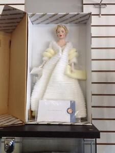 """Marilyn Monroe """" All About Eve"""" FRANKLIN MINT  Porcelain Doll"""