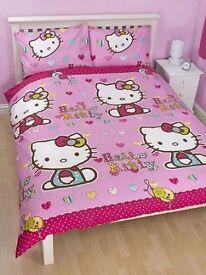 Hello Kitty Double Duvet Set