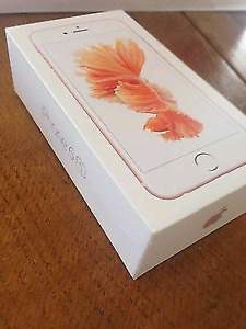 BRAND NEW APPLE IPHONE 6S 64GB ROSE GOLD UNLOCKED
