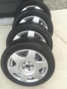 205/50/16 champiro 80% on jetta Rims