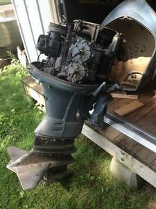 1965 Evinrude 60 HP Sport Four Motor London Ontario image 8