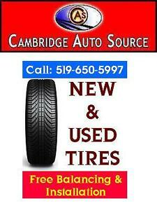 QUALITY NEW & USED ALL SEASON TIRES NOW IN STOCK - 519-650-5997