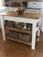 Country Kitchen Island several sizes and styles available