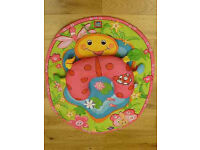 Tiny love tummy time play mat and head chest support