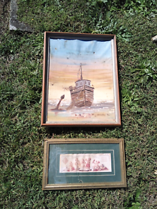 2 picture frames Burleigh Waters Gold Coast South Preview