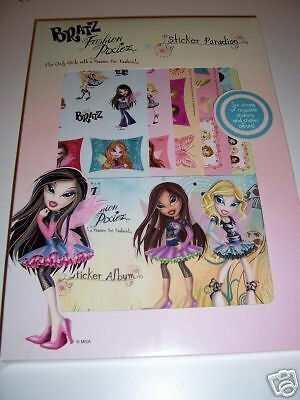 BRATZ FASHION PIXIEZ STICKER PARADISE