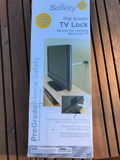 Safety First TV lock to wall - prevent toddler pulling tv down