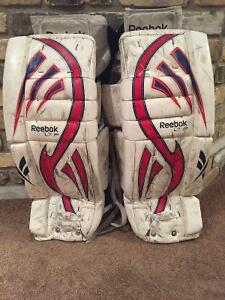 Goalie pads 26 plus one