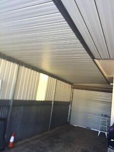 carport and verandah including roller door Firle Norwood Area Preview