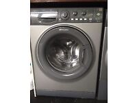 8kg grey Hotpoint Washer & dryer, new model,excellent cond,4 months warranty
