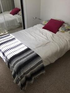 Double bed, clean