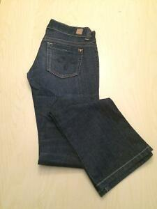Guess Jeans (Dare Devil Boot Cut) - Size 27 Kitchener / Waterloo Kitchener Area image 1