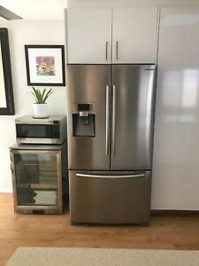 Excellent Condition Samsung SRF639GDLS French Door Fridge Freezer North Beach Stirling Area Preview
