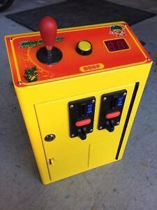 Brand New Claw Machine Arcade Control Unit Token Acceptors