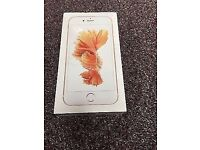64gb Apple iPhone 6S Sealed and unlocked Rose Gold