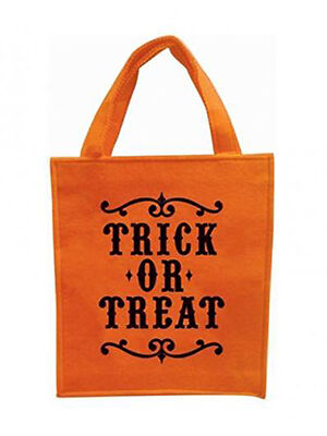Halloween Embroidered Felt Trick or Treat Bag
