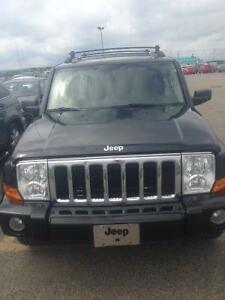 2010 Jeep Commander Limited premium pack Pickup Truck
