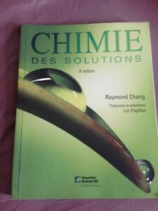 Chimie des solutions 3e édition Raymond Chang