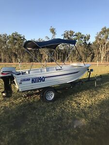 Sea jay 4.3 metre boat 2004 model Childers Bundaberg Surrounds Preview