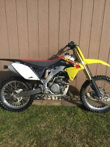 2013 Suzuki RMZ250 33hrs since new with ownership