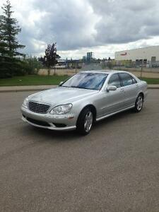 Beautiful 2004 Mercedes-Benz S-Class 500