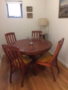Dinning Suite - Solid Wood & Extendable to 1.5m Randwick Eastern Suburbs Preview