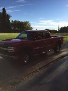 2002 Chevrolet Silverado Duramax 2500 LS Pickup Truck