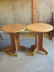 Round accent tables