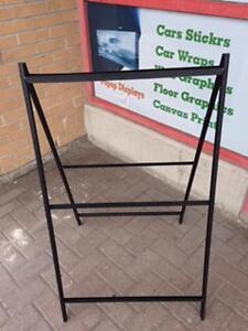 A-Frame Sign Display, Side walk signs,