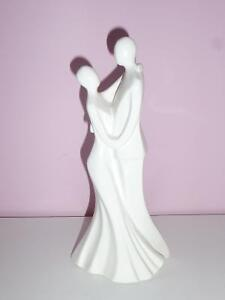 Bride and Groom Wedding Cake Topper all in white Kawartha Lakes Peterborough Area image 1