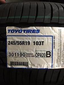 4 Brand New Toyo Open Country A20 245/55R19 All Season Tires *** WallToWallTires.com ***