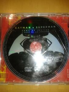 Batman VS Superman DVD Movie