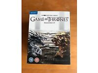 Game of Thrones season 1-7 Blu-rays