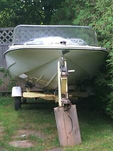 Boat, Motor, & Trailer for sale - will sell as package or piece